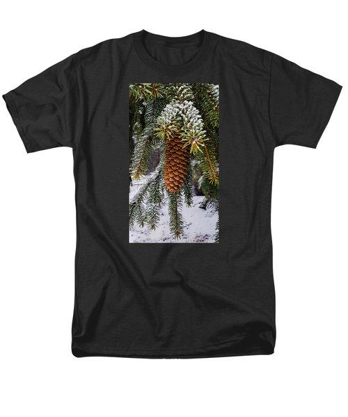 Essence Of Winter  Men's T-Shirt  (Regular Fit) by Bruce Carpenter