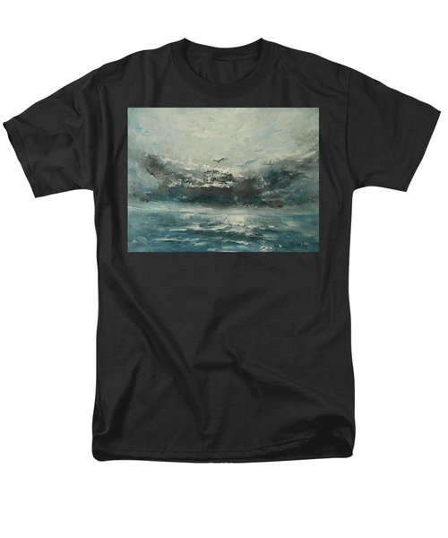 Even If The Skies Get Rough Men's T-Shirt  (Regular Fit) by Jane See