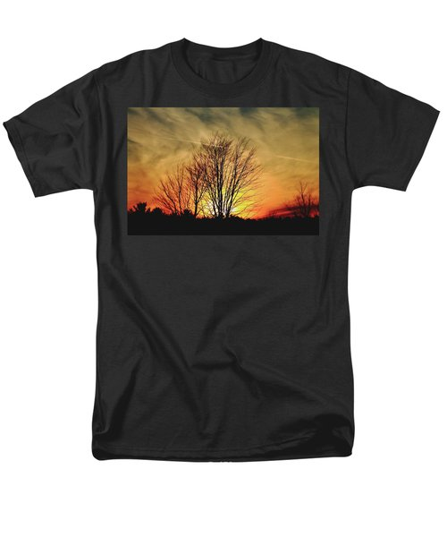 Evening Fire Men's T-Shirt  (Regular Fit) by Bruce Patrick Smith