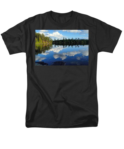 Evening Reflections On Spoon Lake Men's T-Shirt  (Regular Fit) by Larry Ricker
