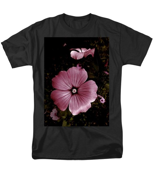Men's T-Shirt  (Regular Fit) featuring the photograph Evening Rose Mallow by Danielle R T Haney