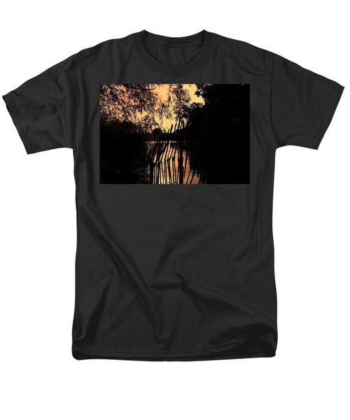 Men's T-Shirt  (Regular Fit) featuring the photograph Evening Time by Keith Elliott
