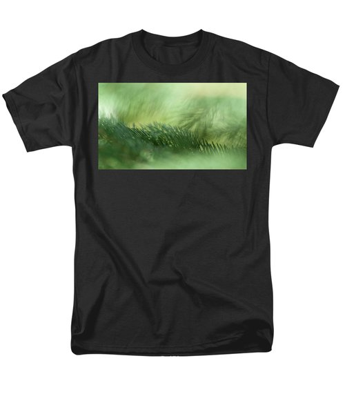 Men's T-Shirt  (Regular Fit) featuring the photograph Evergreen Mist by Ann Lauwers