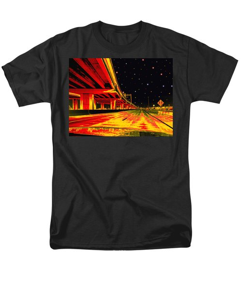 Men's T-Shirt  (Regular Fit) featuring the digital art Are We There Yet by Wendy J St Christopher