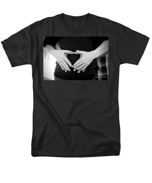 Expecting Love Men's T-Shirt  (Regular Fit) by Peggy Hughes