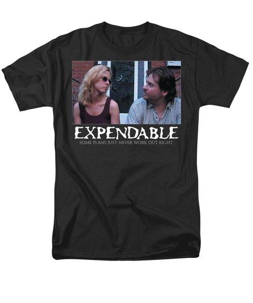 Expendable 2 - Black Men's T-Shirt  (Regular Fit) by Mark Baranowski