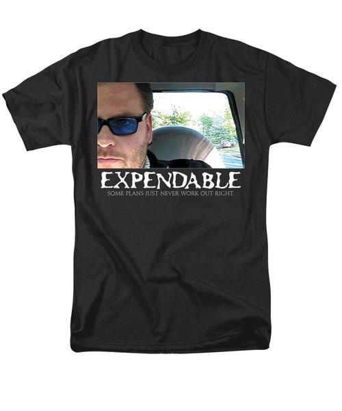 Expendable 3 - Black Men's T-Shirt  (Regular Fit) by Mark Baranowski