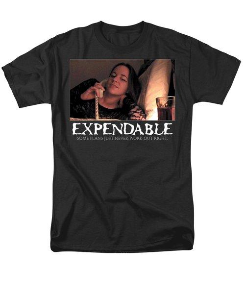 Expendable 5 - Black Men's T-Shirt  (Regular Fit) by Mark Baranowski