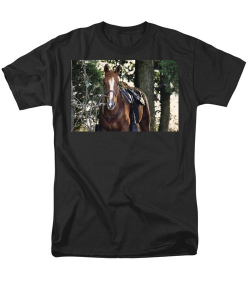 Eye Contact Men's T-Shirt  (Regular Fit) by Stacy C Bottoms