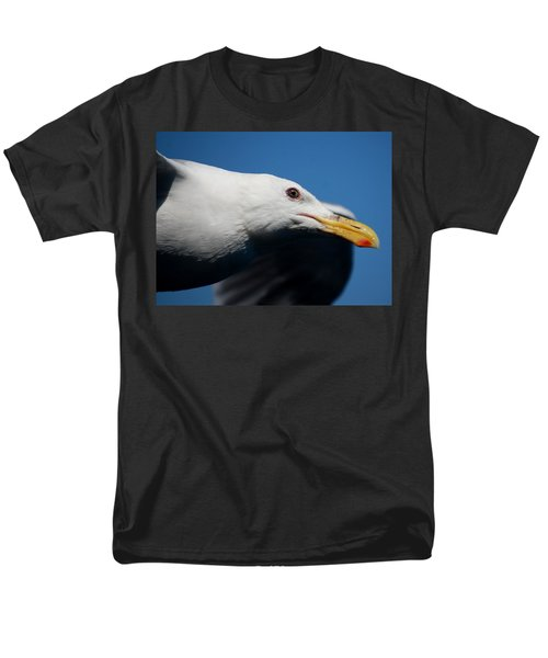 Eye Of A Seagull Men's T-Shirt  (Regular Fit) by Sumoflam Photography