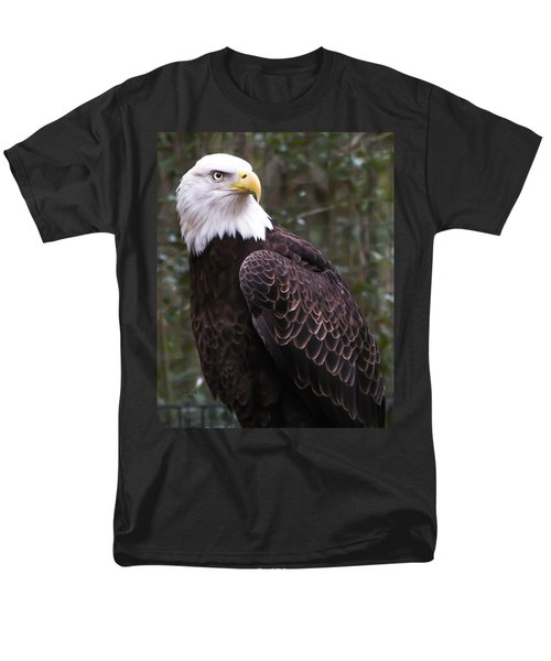 Eye Of The Eagle Men's T-Shirt  (Regular Fit) by Trish Tritz