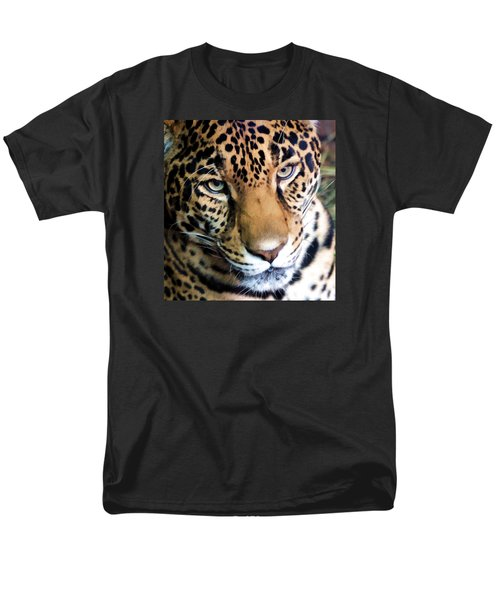 Eye Of The Leopard Men's T-Shirt  (Regular Fit) by Athena Mckinzie