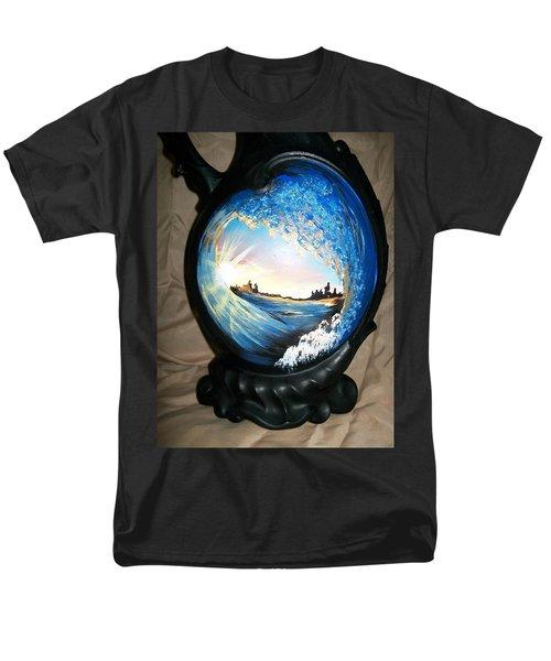 Eye Of The Wave 1 Men's T-Shirt  (Regular Fit)