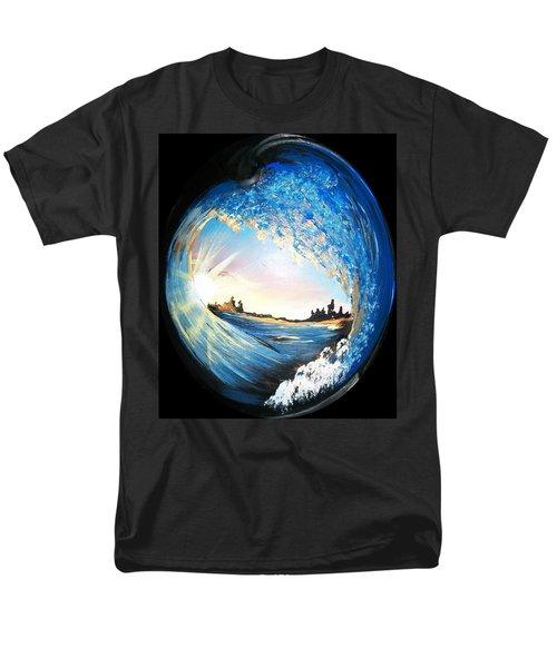 Eye Of The Wave Men's T-Shirt  (Regular Fit)