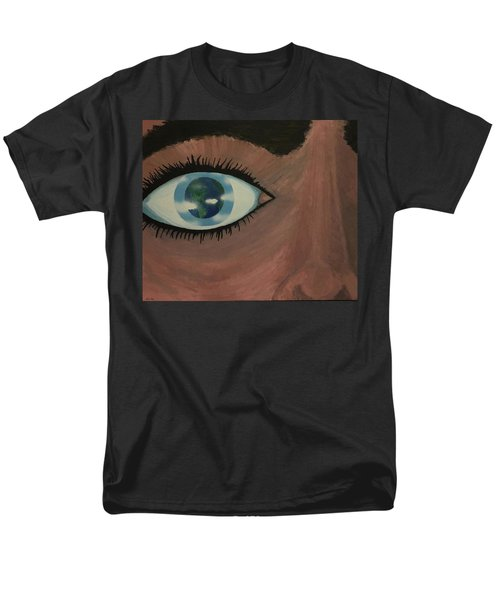 Men's T-Shirt  (Regular Fit) featuring the painting Eye Of The World by Thomas Blood