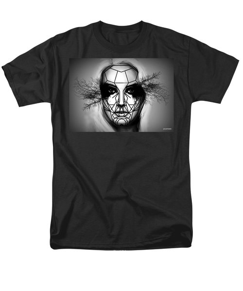 Eyes Tell The Truth Men's T-Shirt  (Regular Fit) by Paulo Zerbato