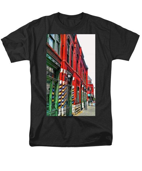Facade Of Color Men's T-Shirt  (Regular Fit) by Douglas Barnard