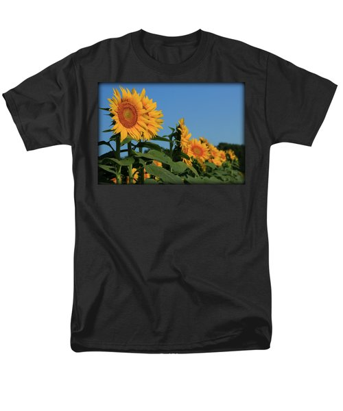 Men's T-Shirt  (Regular Fit) featuring the photograph Facing East by Chris Berry
