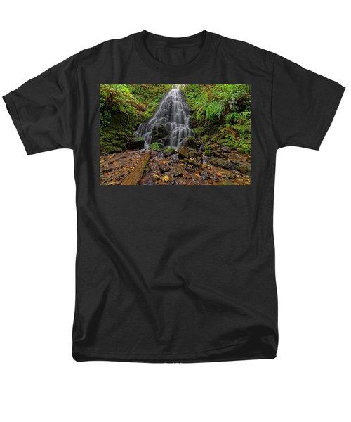 Fairy Falls Men's T-Shirt  (Regular Fit) by Jonathan Davison