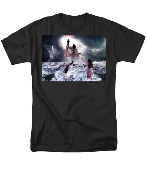 Faith Men's T-Shirt  (Regular Fit) by Bill Stephens