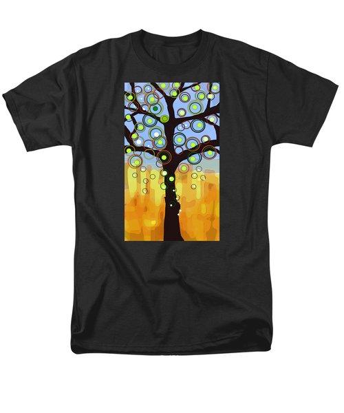 Fall Circles Men's T-Shirt  (Regular Fit) by Patricia Arroyo