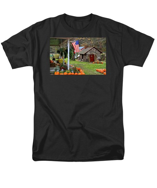 Men's T-Shirt  (Regular Fit) featuring the photograph Fall Harvest - Rural America by DJ Florek