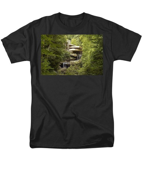 Falling Water Men's T-Shirt  (Regular Fit)