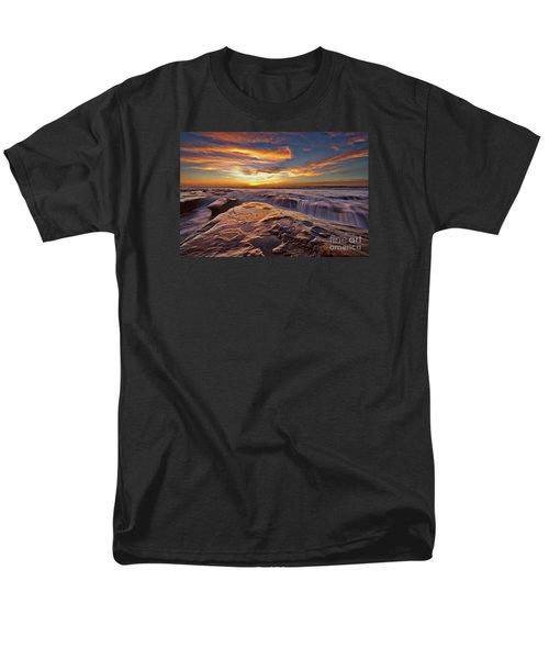 Falling Water Men's T-Shirt  (Regular Fit) by Sam Antonio Photography