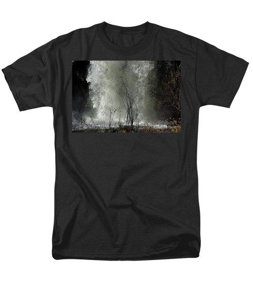 Falling Waters Men's T-Shirt  (Regular Fit) by Vicki Pelham