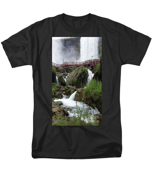 Falls Men's T-Shirt  (Regular Fit) by Raymond Earley