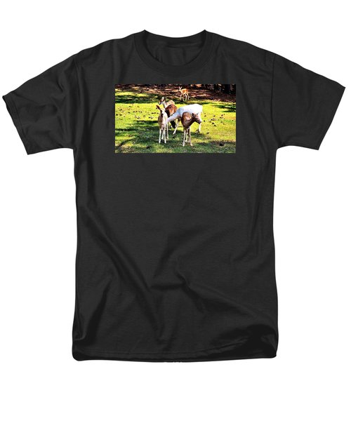 Family Of Deer Men's T-Shirt  (Regular Fit) by James Potts
