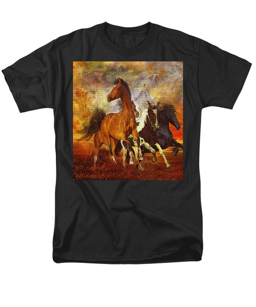 Fantasy Horse Visions Men's T-Shirt  (Regular Fit) by Steve Roberts