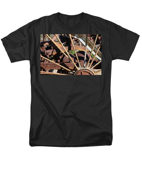 Men's T-Shirt  (Regular Fit) featuring the photograph Farm Equipment 5 by Ely Arsha