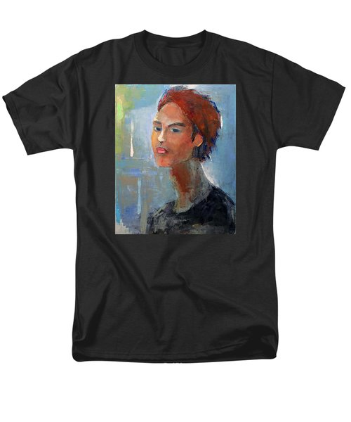 Men's T-Shirt  (Regular Fit) featuring the painting Fascination by Becky Kim