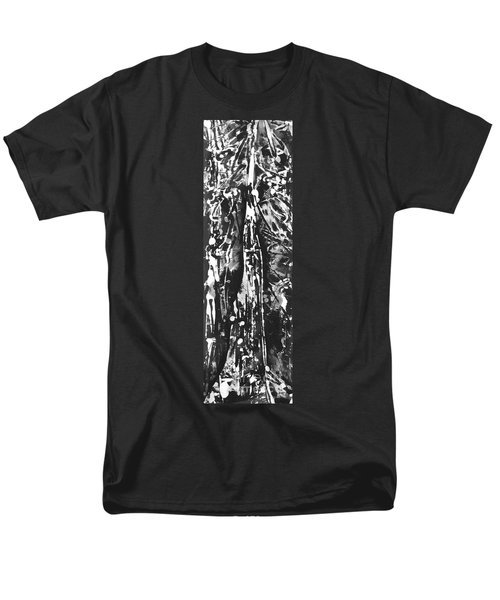 Men's T-Shirt  (Regular Fit) featuring the painting Father by Carol Rashawnna Williams