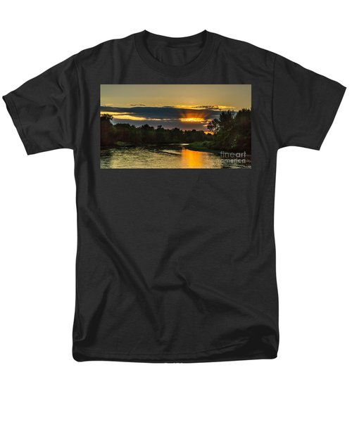 Father's Day Sunset Men's T-Shirt  (Regular Fit) by Robert Bales