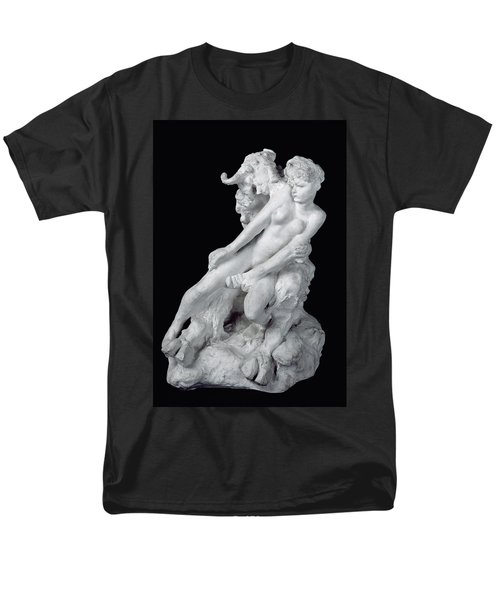 Faun And Nymph Men's T-Shirt  (Regular Fit) by Auguste Rodin