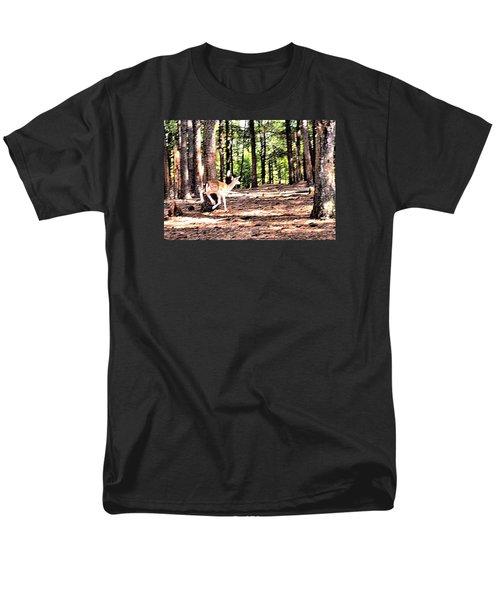 Faun In Flight Men's T-Shirt  (Regular Fit) by James Potts