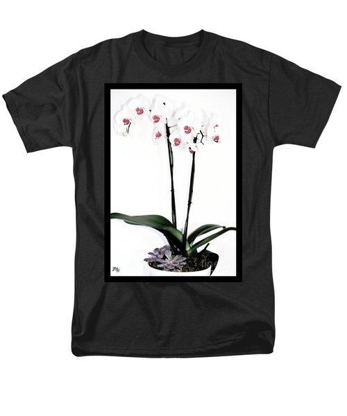 Favorite Gift Of Orchids Men's T-Shirt  (Regular Fit) by Marsha Heiken