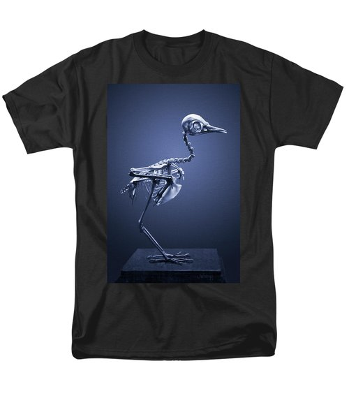 Men's T-Shirt  (Regular Fit) featuring the photograph Featherless In Blue by Joseph Westrupp
