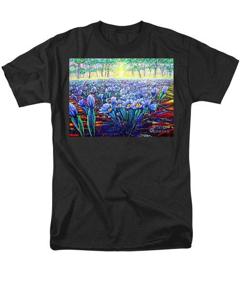 Field.flowers Men's T-Shirt  (Regular Fit) by Viktor Lazarev