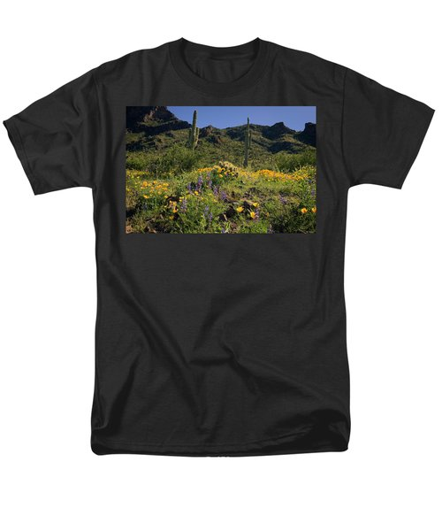 Fields Of Glory Men's T-Shirt  (Regular Fit) by Lucinda Walter
