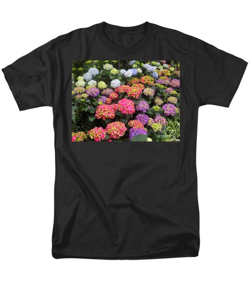 Fifty Shades Of Hydrangea Men's T-Shirt  (Regular Fit) by Lingfai Leung