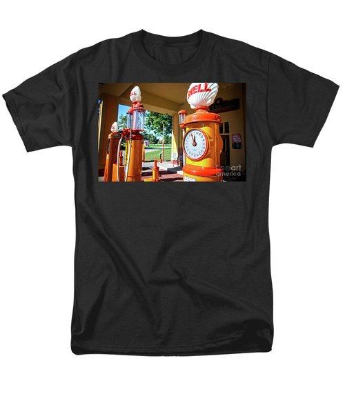 Fillin' Station Men's T-Shirt  (Regular Fit) by Randall Cogle