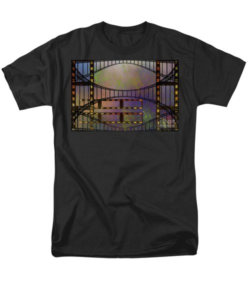Men's T-Shirt  (Regular Fit) featuring the mixed media Film Is Dead by Jim  Hatch