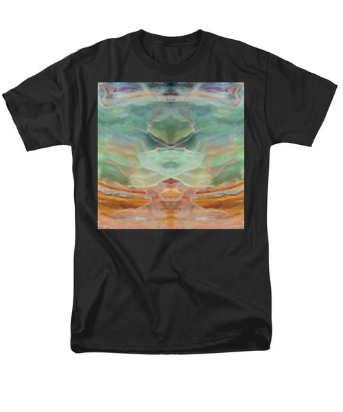 Finding Peace Men's T-Shirt  (Regular Fit) by Ann Tracy