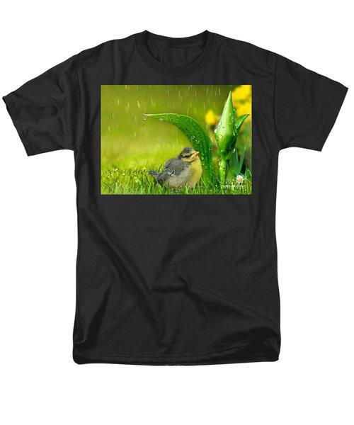 Finding Shelter Men's T-Shirt  (Regular Fit) by Morag Bates
