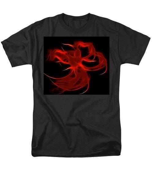 Men's T-Shirt  (Regular Fit) featuring the digital art Fire Dancer by Holly Ethan