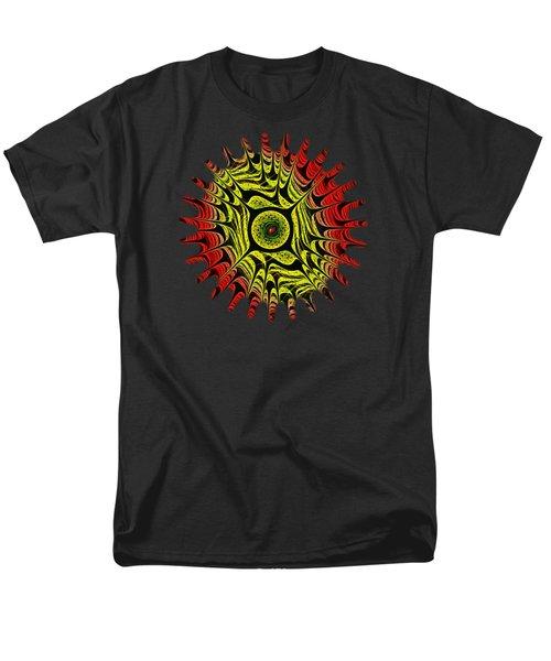 Fire Dragon Eye Men's T-Shirt  (Regular Fit) by Anastasiya Malakhova