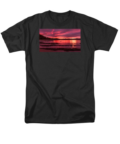 Fire In The Sky Men's T-Shirt  (Regular Fit) by Racheal  Christian